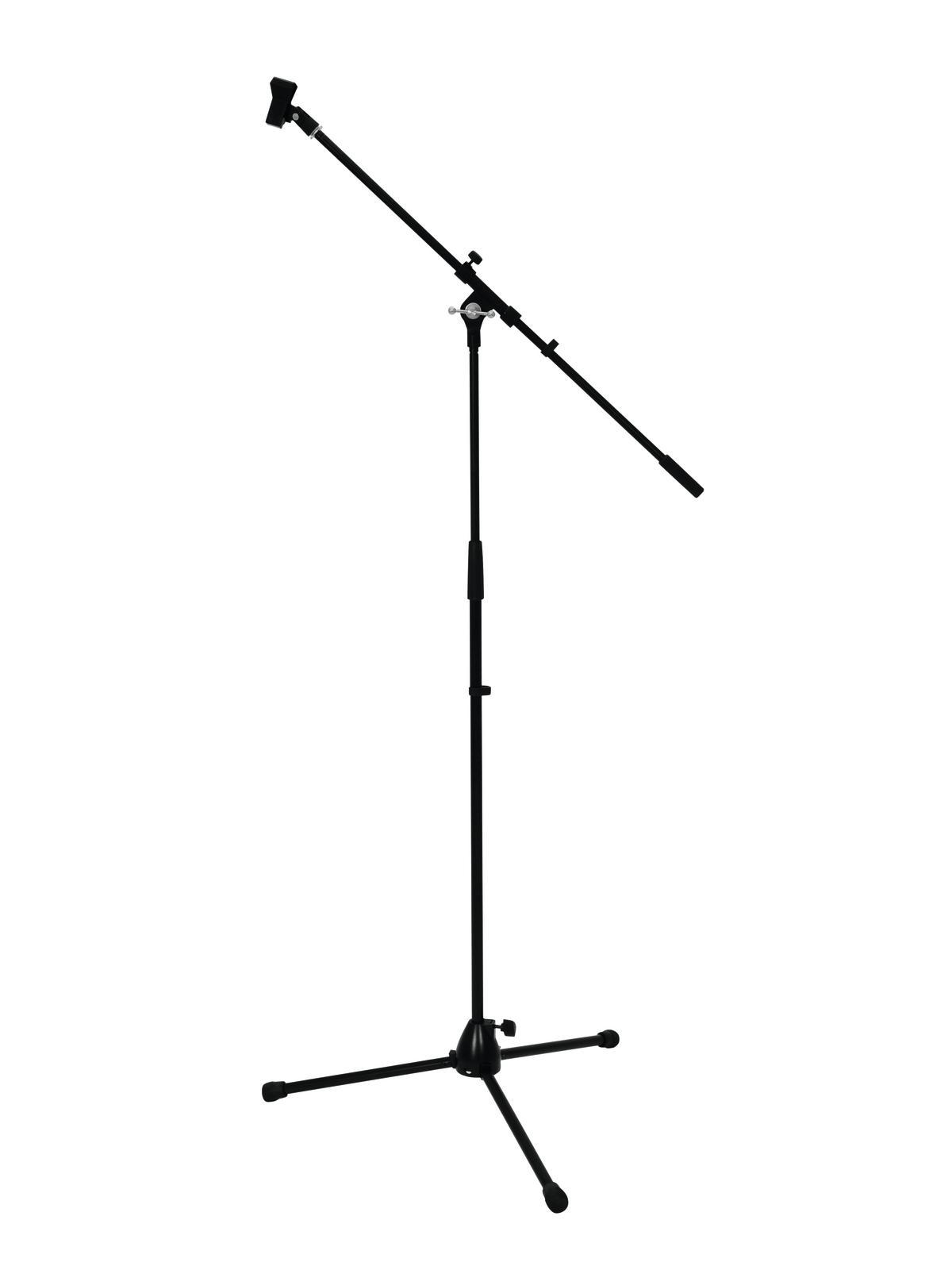 OMNITRONIC Mikrofonstativ mit Galgen, PRO sw