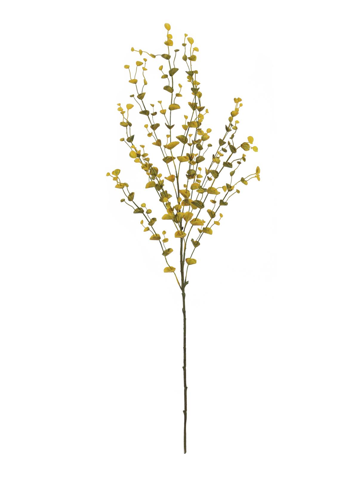 EUROPALMS Eukalyptuszweig, künstlich, gelb-grün, 110cm