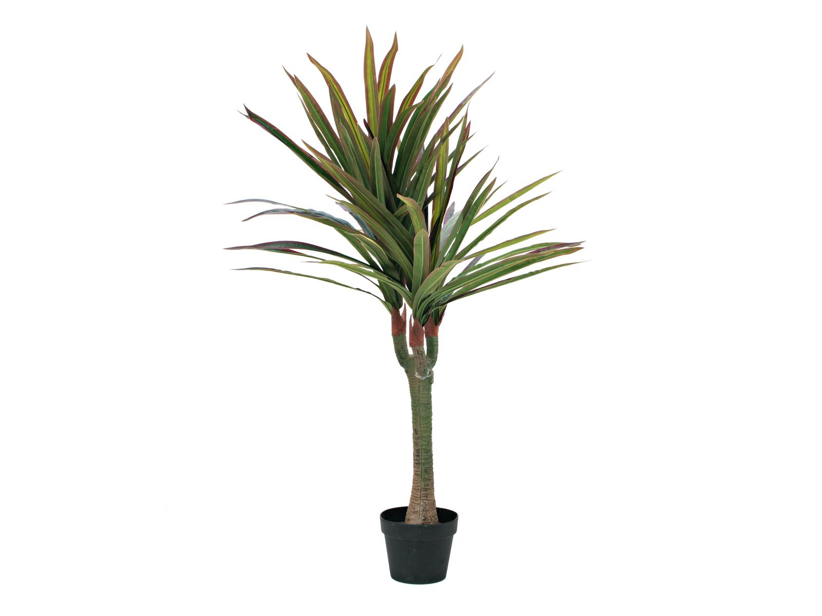 EUROPALMS Dracena, piante artificiali, 120cm