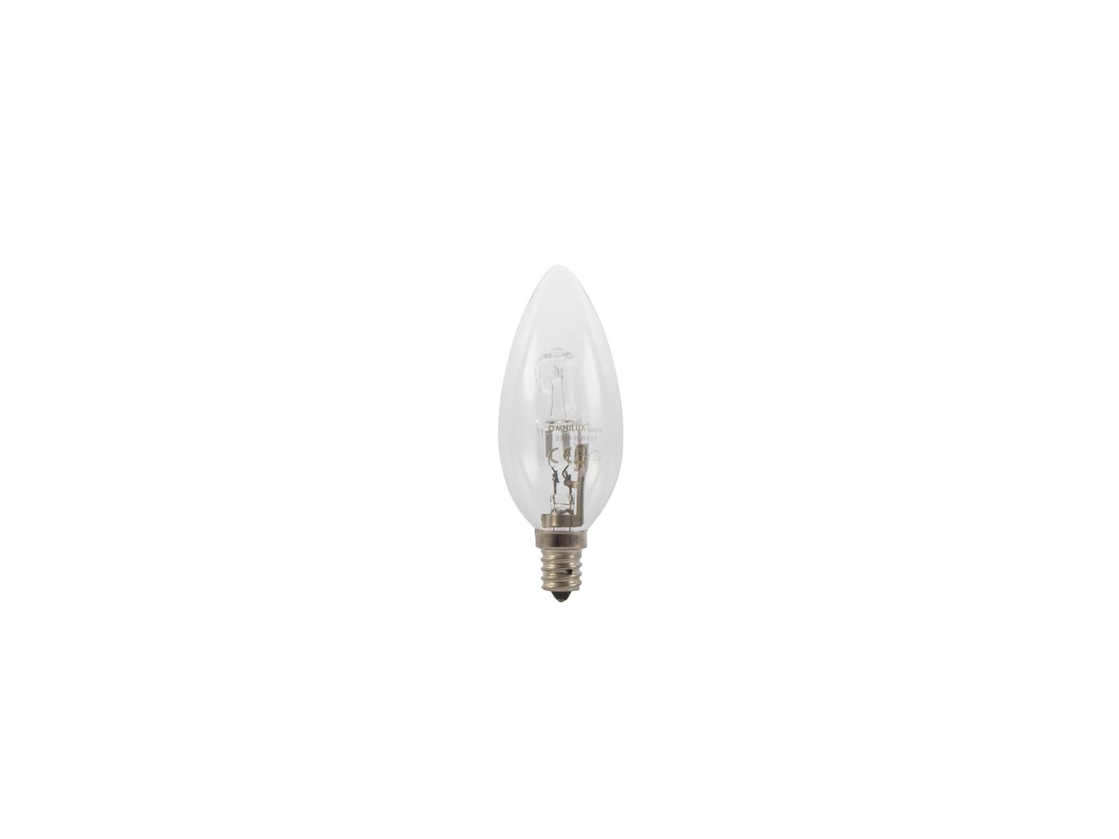 OMNILUX 230V/18W E-12 Kerzenlampe clear H