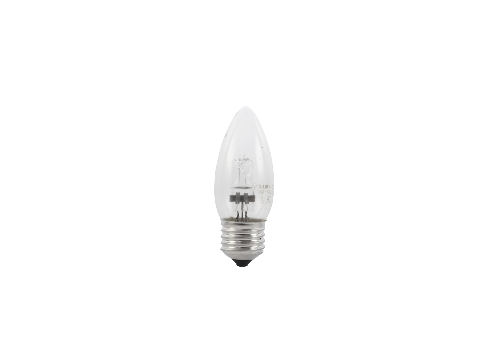 OMNILUX 230V/18W E-27 Kerzenlampe clear H
