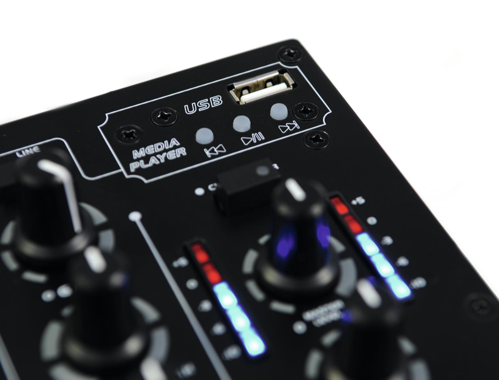 OMNITRONIC PM-311P DJ-Mixer mit Player