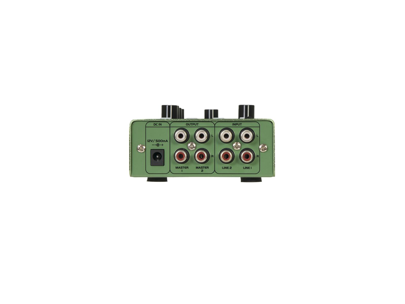 OMNITRONIC GNOME-202P Mini-Mixer grün