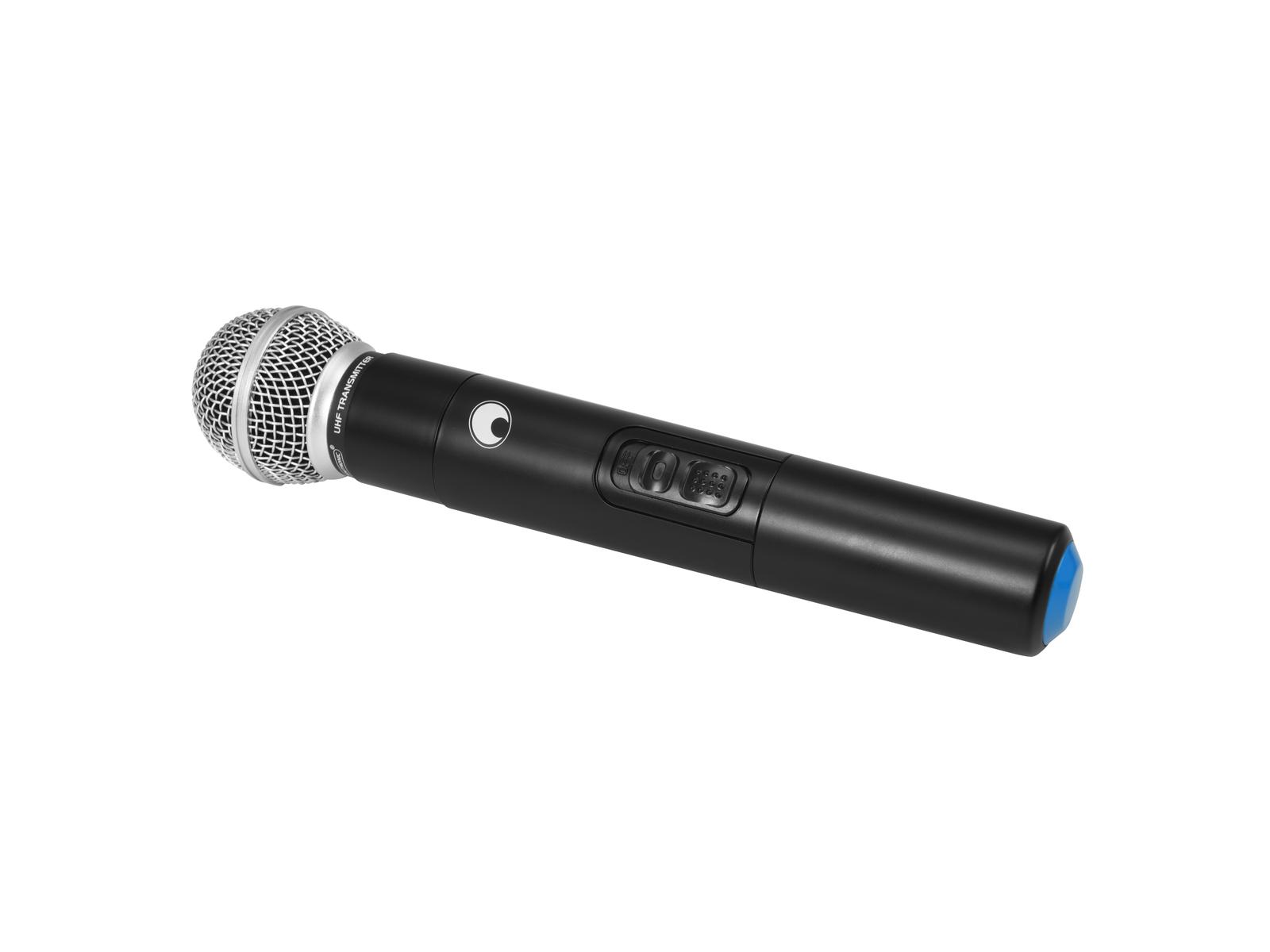 OMNITRONIC Microfono senza fili di MES-serie (864MHz)