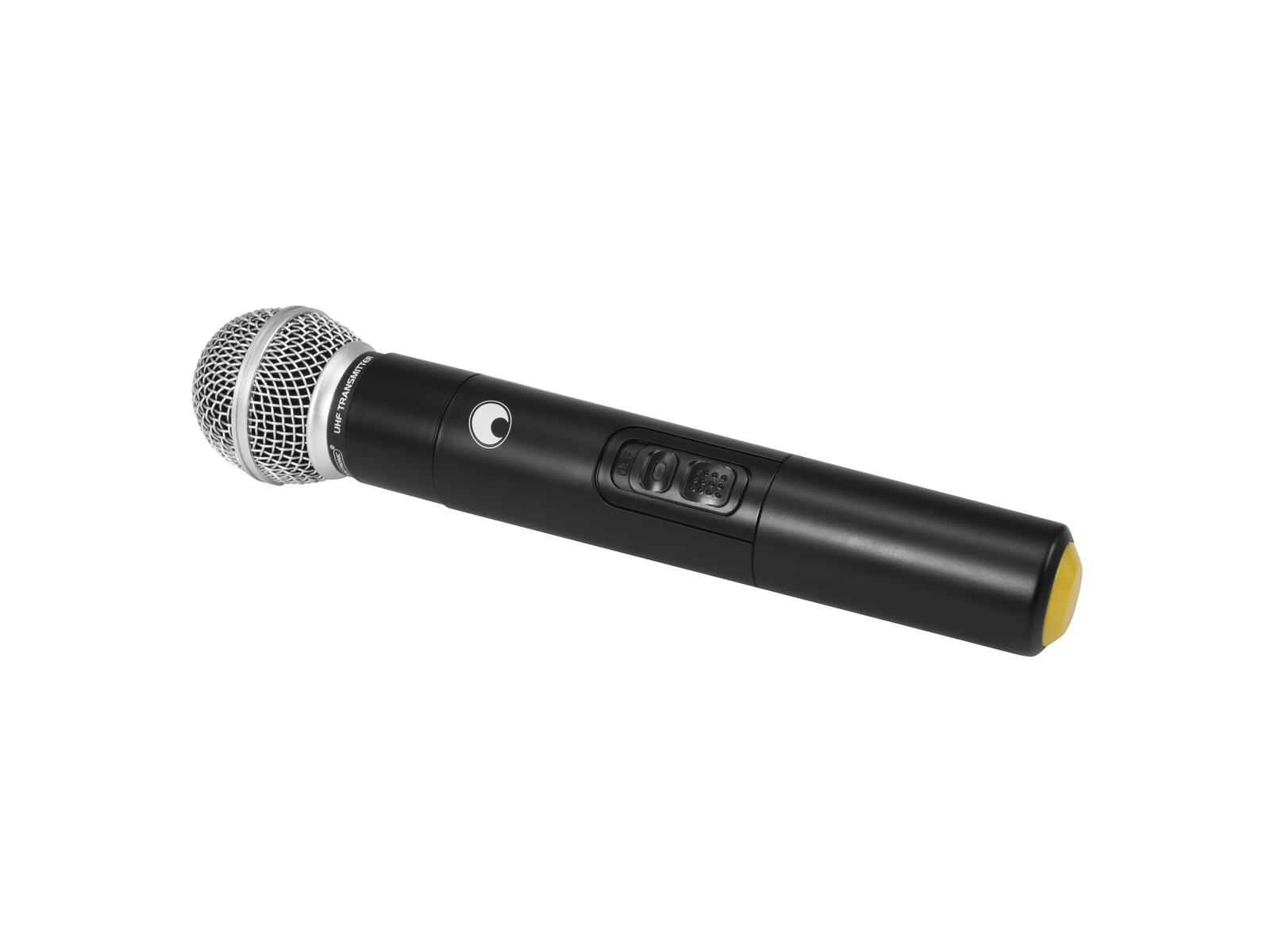 OMNITRONIC Microfono senza fili di MES-serie (830MHz)