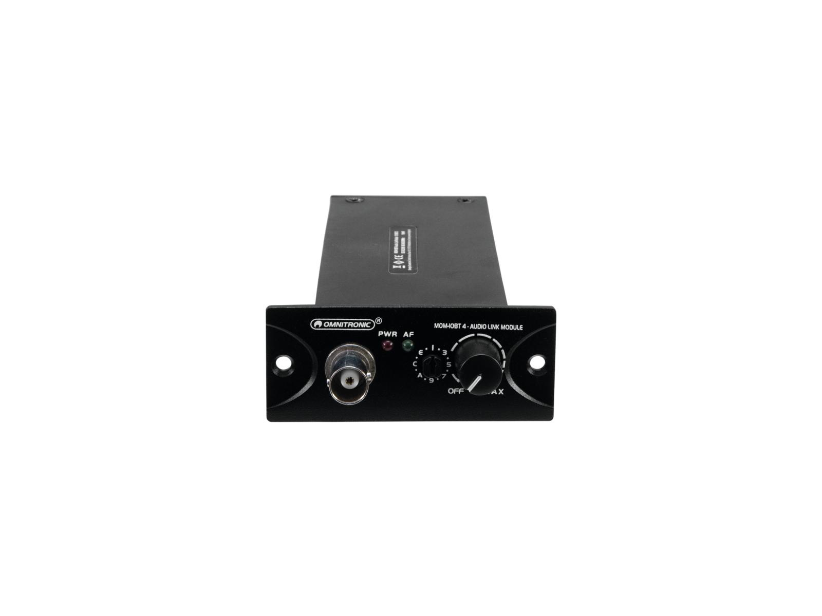 OMNITRONIC MOM-10BT4 Audio-Link-Modul