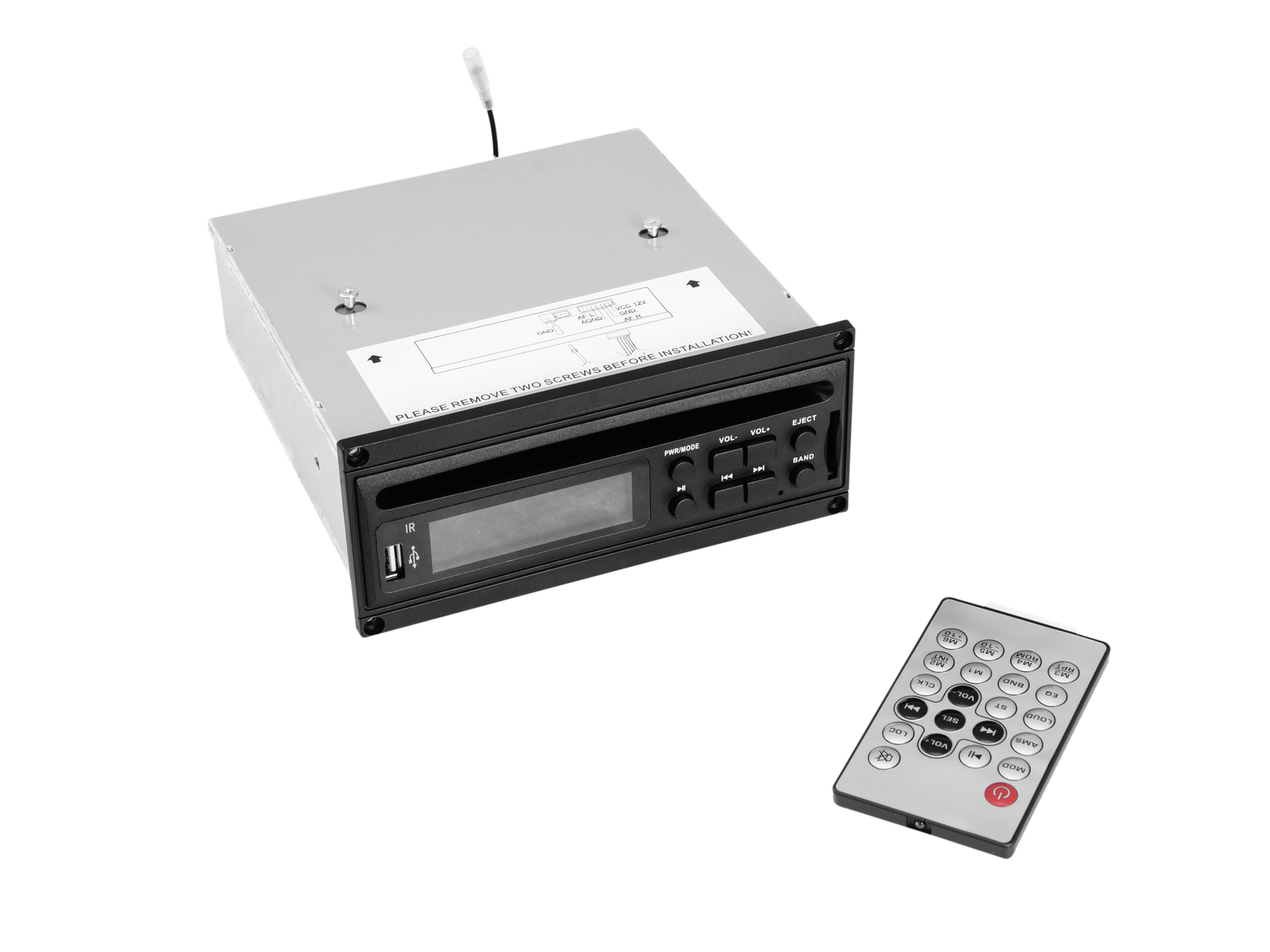 OMNITRONIC MOM-10BT4 CD Player with USB and SD