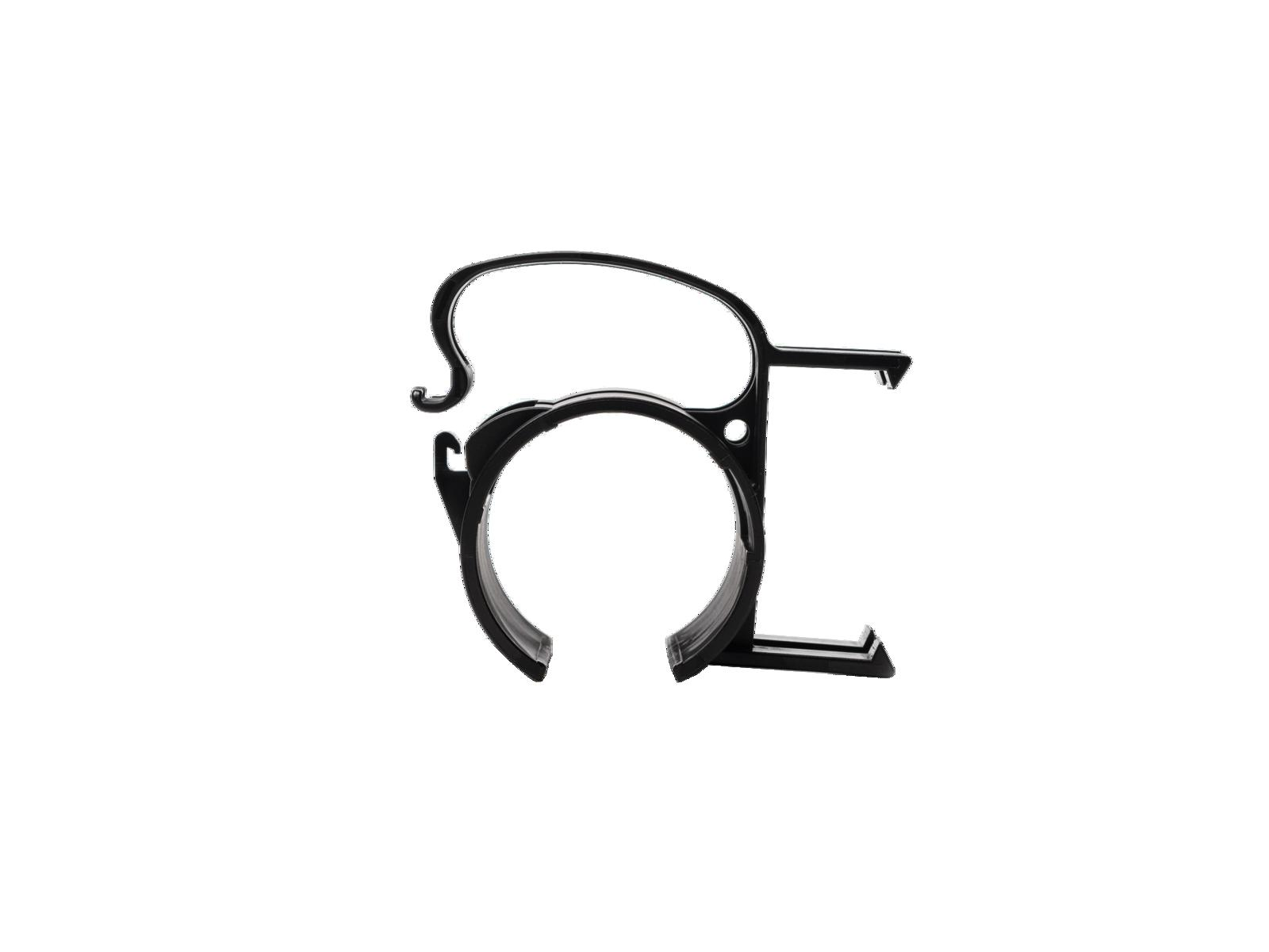 SNAP Befestigungsklammer schwarz 4x
