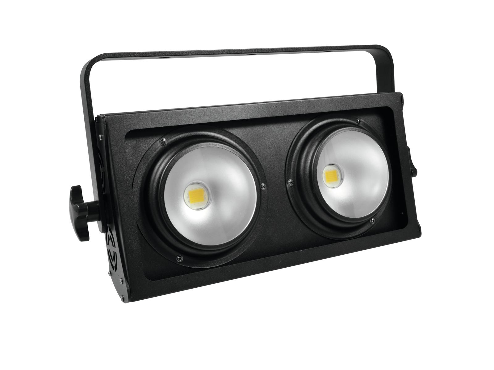 EUROLITE Pubblico Blinder 2x100W COB LED 3200K