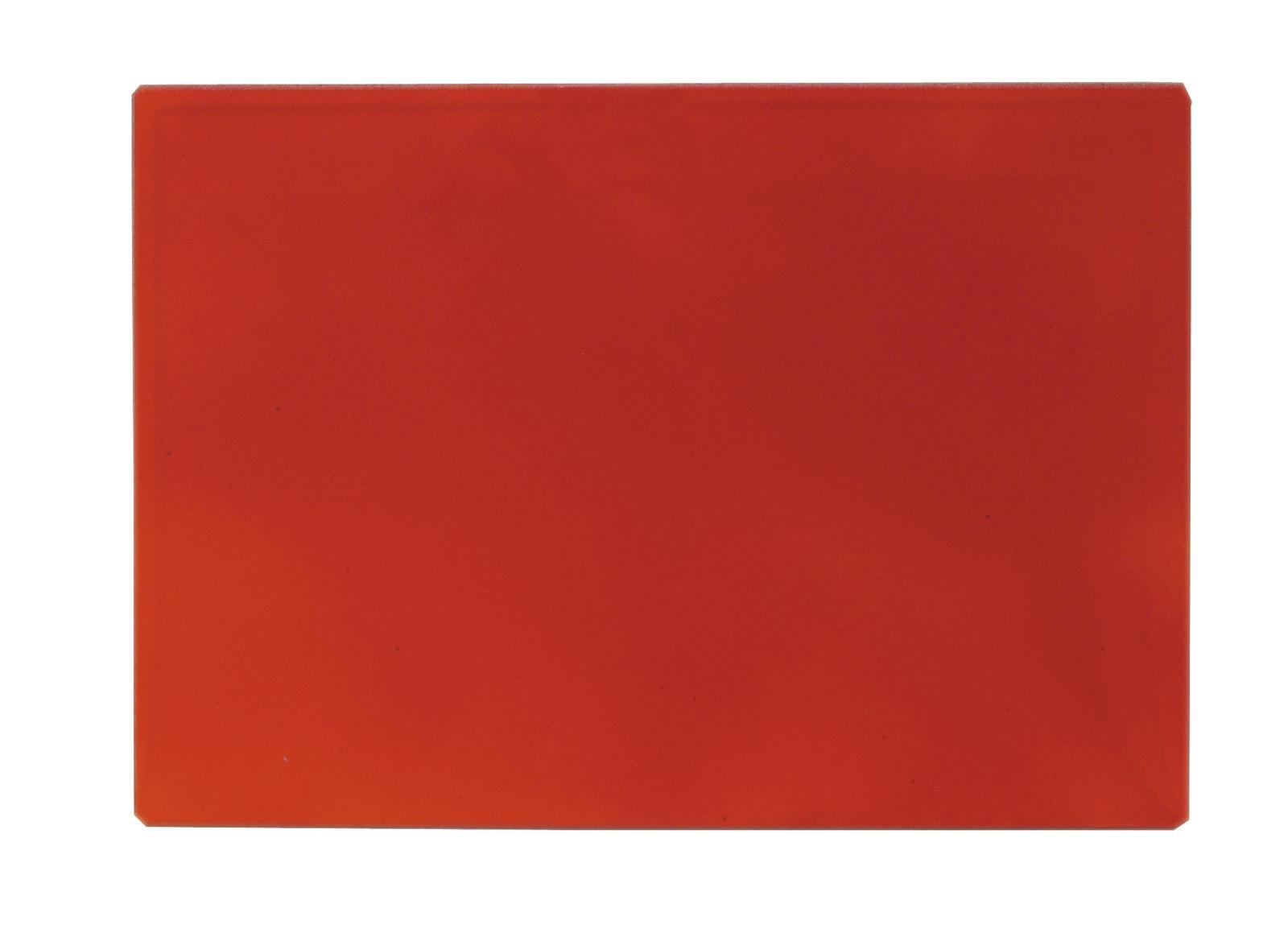EUROLITE di Inondazione del Filtro di Vetro, la luce rossa, 165x132mm