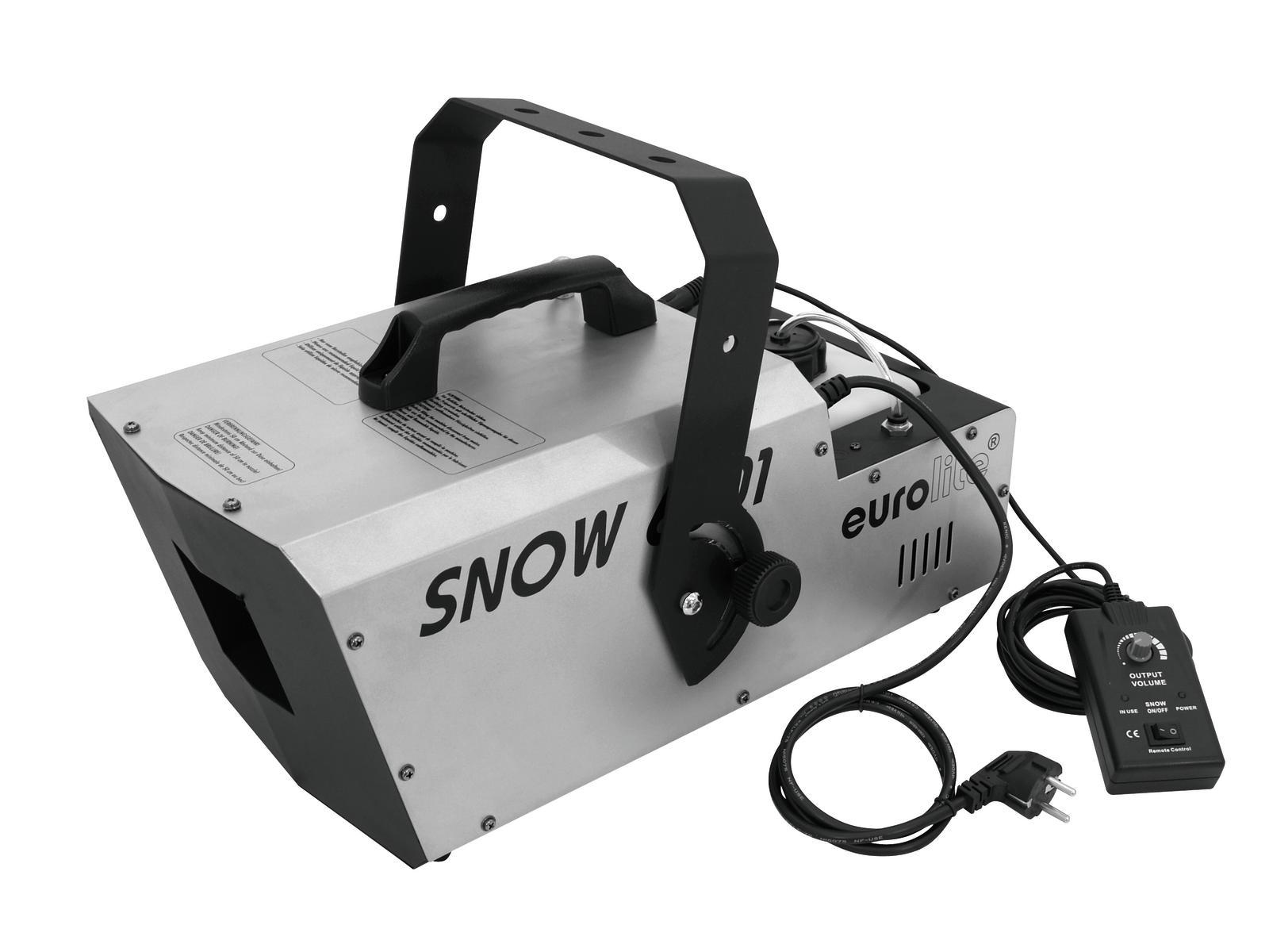 Macchina della Neve effetto nevicata con controller DMX 1350W EUROLITE 6001