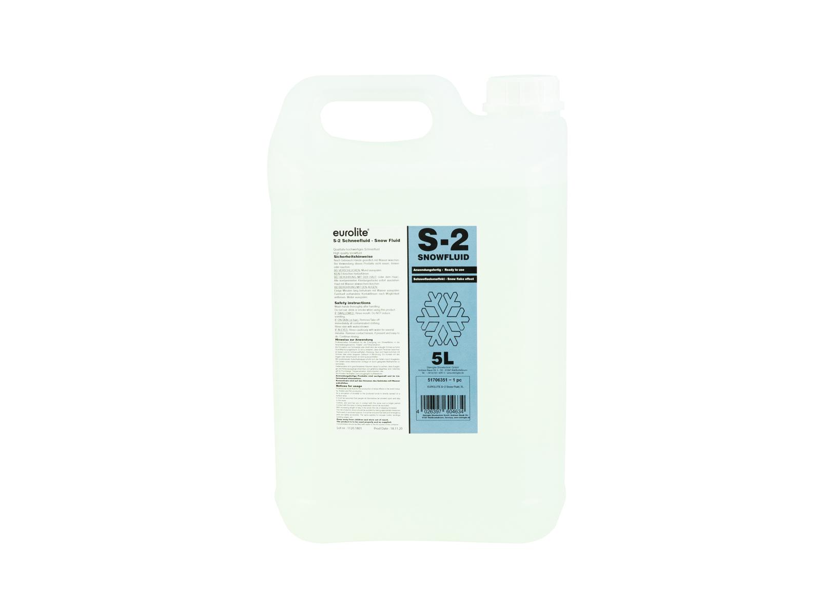 EUROLITE S-2 Schneefluid, 5l