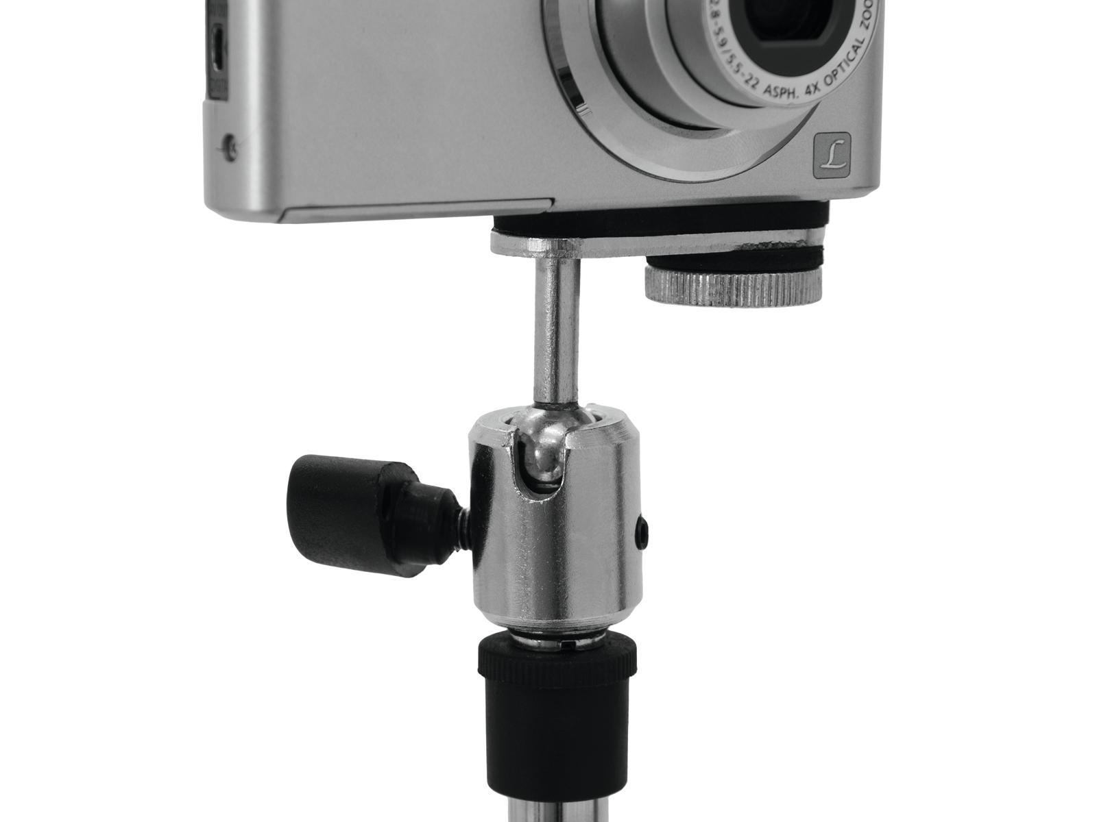 OMNITRONIC Adattatore per fotocamera / microfono stand