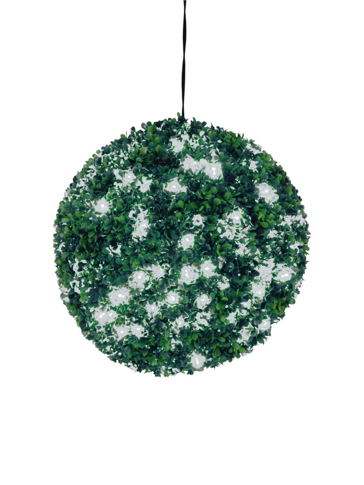 EUROPALMS allestimento di natale sferica a led bianco, 40cm
