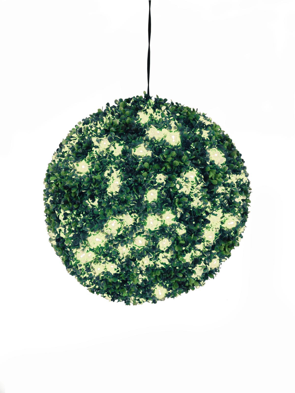 EUROPALMS allestimento di natale sferica a led bianco luce calda, 40cm