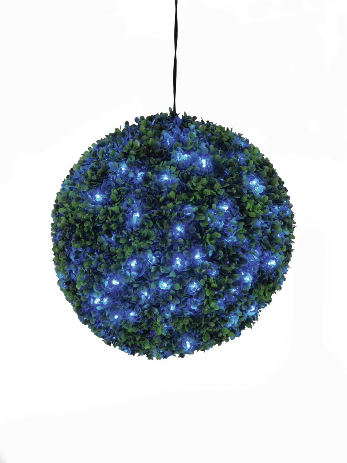 EUROPALMS allestimento di natale sferica a led blu, 40cm