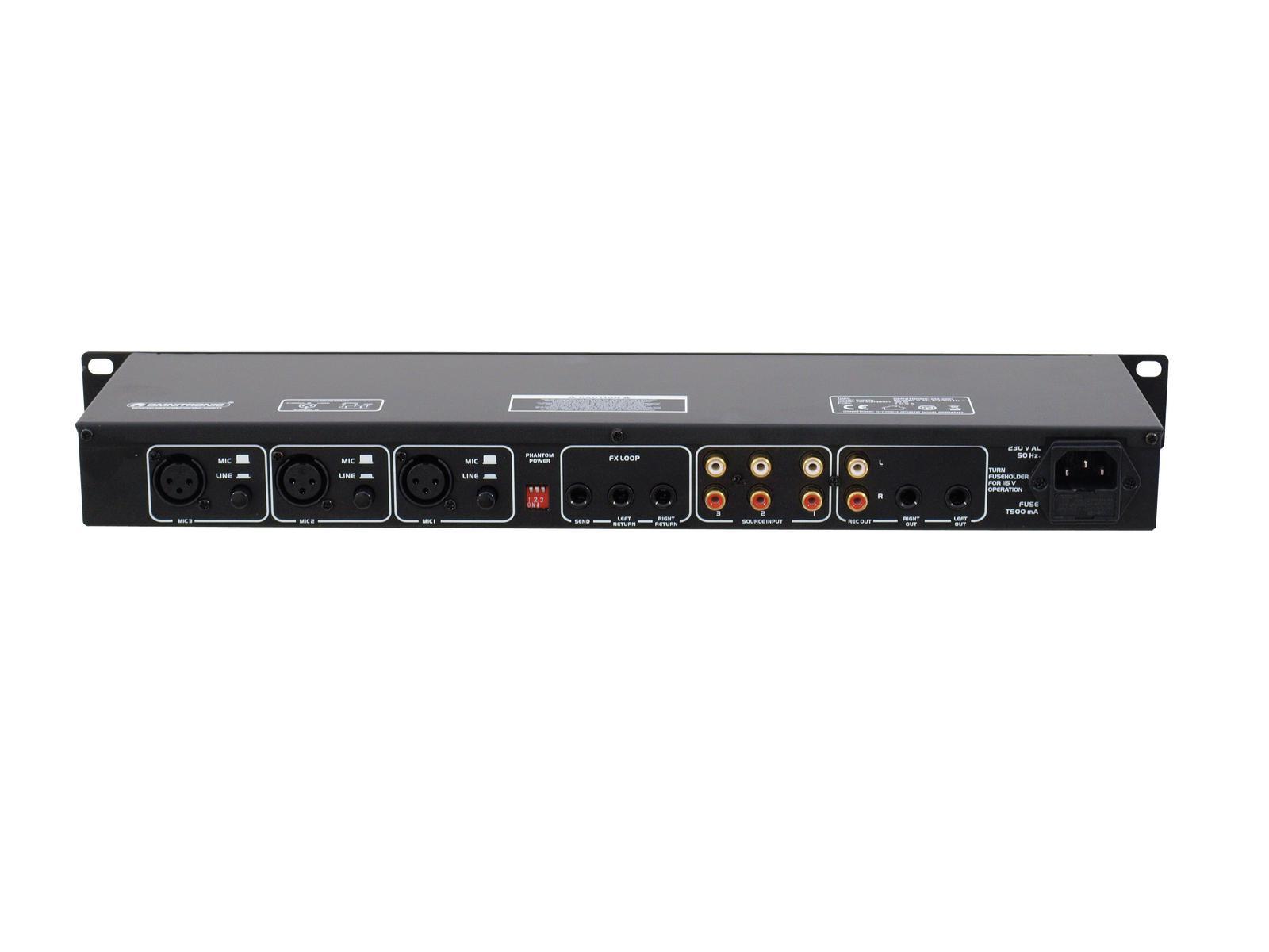 OMNITRONIC EM-260B Entertainment-Mixer