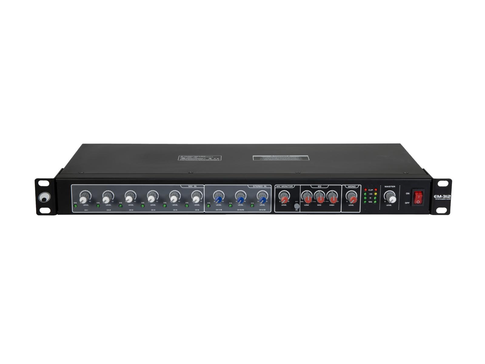 OMNITRONIC EM-312 Entertainment-Mixer