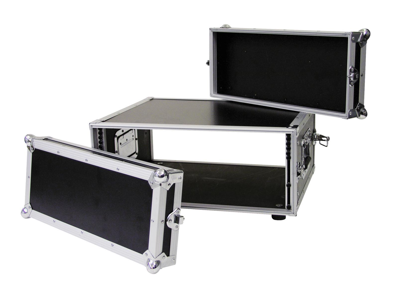 Flight case Rack Per il trasporto Di amplificatori CO DD, 4U, 38cm ROADINGER