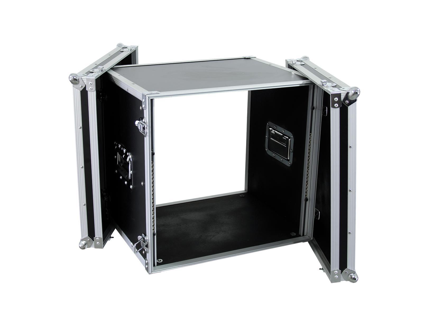 Flight case Rack Per il trasporto Di amplificatori CO DD, 10U, 38cm ROADINGER