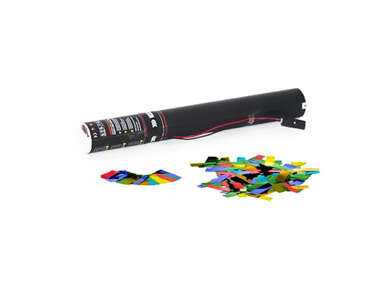 TCM FX Elettrico Cannone Sparacoriandoli 40 cm, multicolore metallizzato