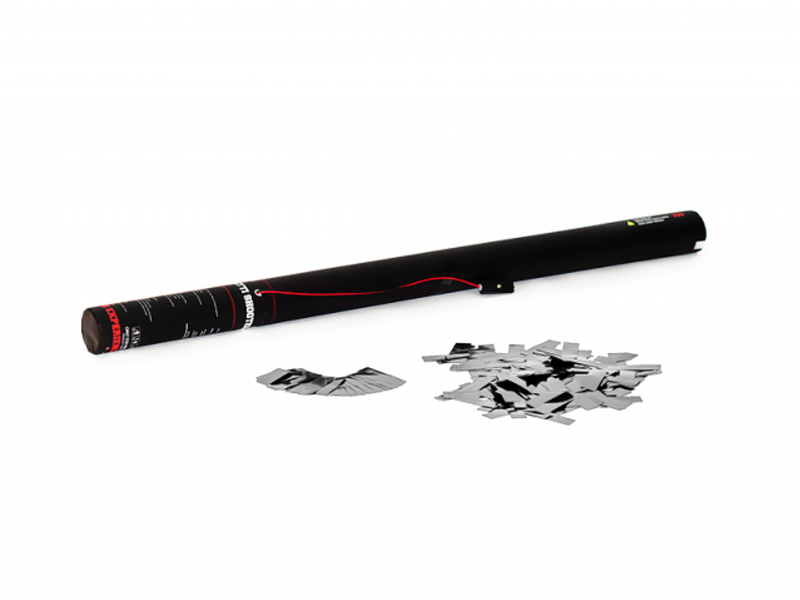 TCM FX Cannone Sparacoriandoli Elettrico 80 cm, argento