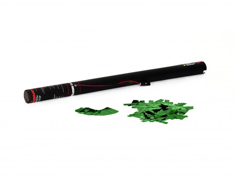 TCM FX Cannone Sparacoriandoli Elettrico 80 cm, verde metallizzato