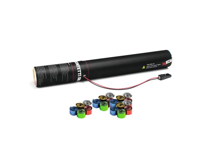 TCM FX Elettrico Streamer Cannone da 50 cm, multicolore metallizzato