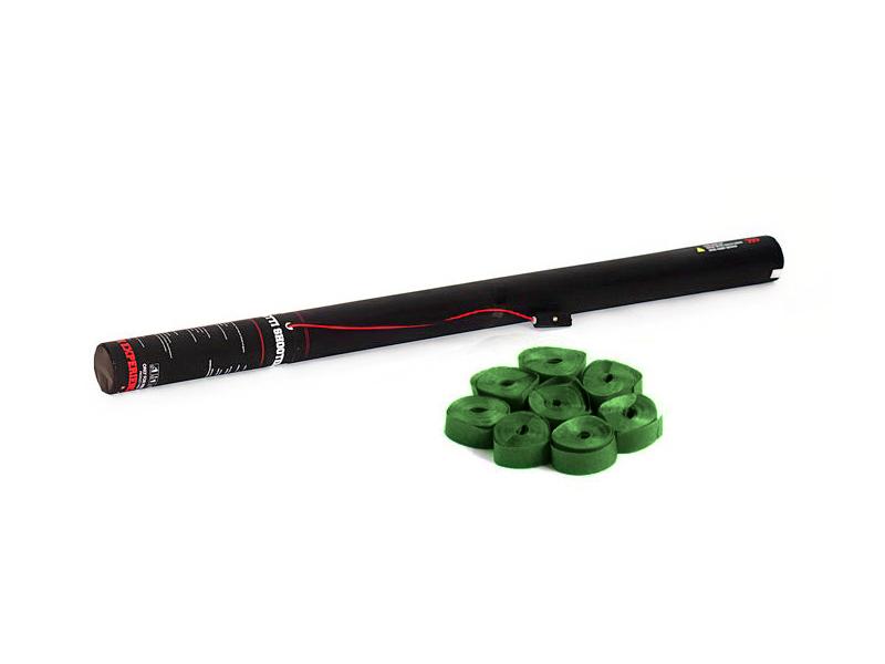 TCM FX Elettrico Streamer Cannone 80 cm, di colore verde scuro