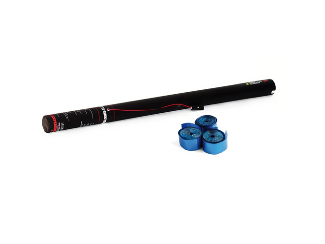 TCM FX Elettrico Streamer Cannone 80 cm, blu metallizzato