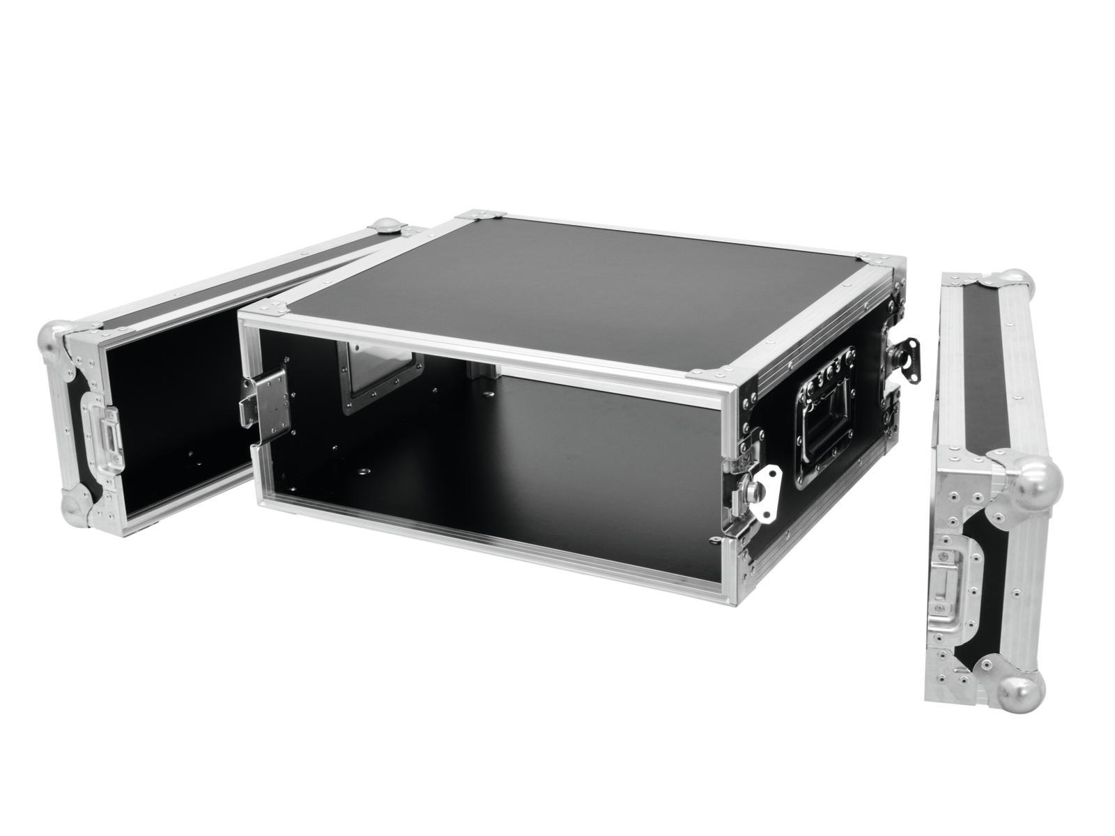 Flight case Rack Per il trasporto Di amplificatori 4U, 45cm Profi ROADINGER Nero