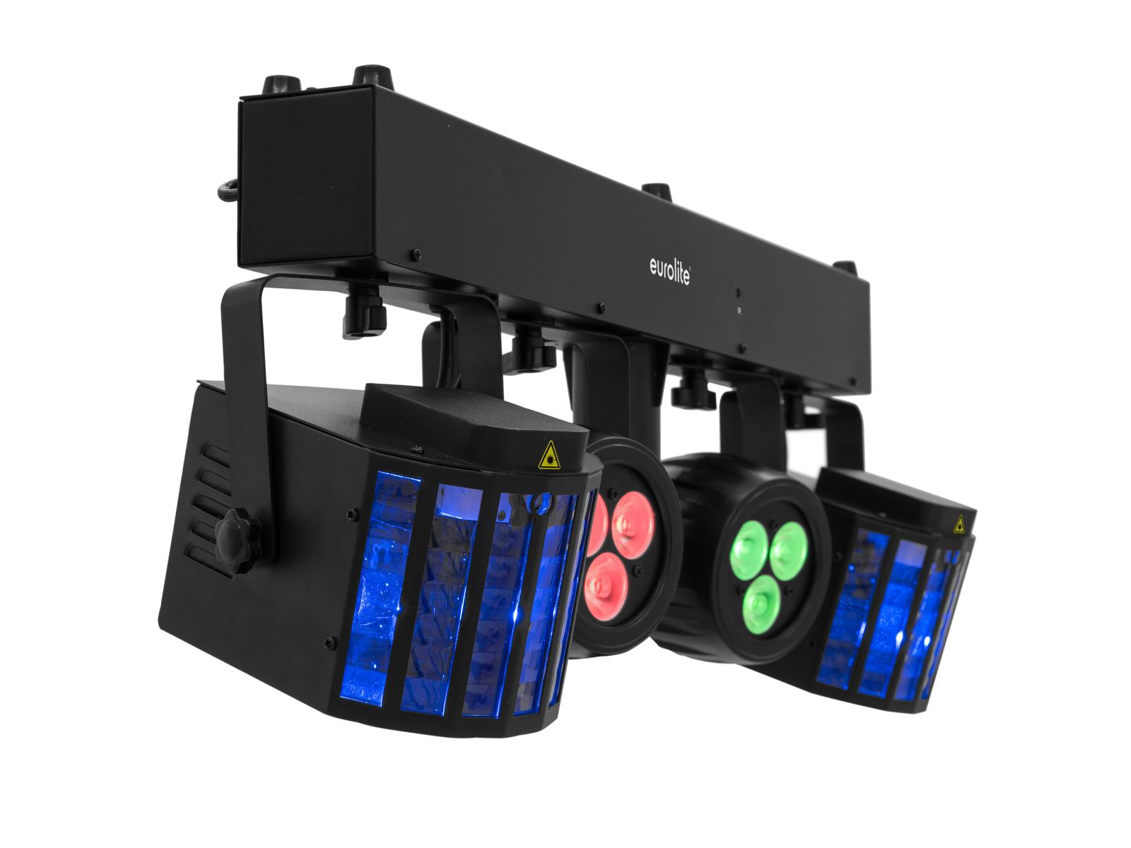 EUROLITE LED KLS-120 Laser FX II Kompakt-Lichtset