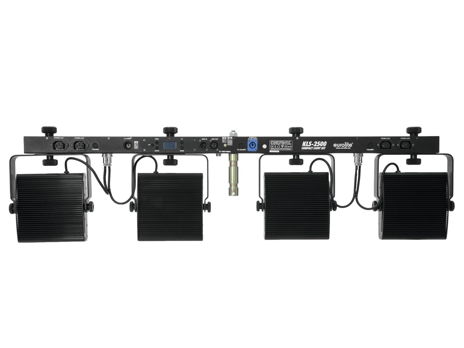 EUROLITE LED KLS-2500 Compatto e Leggero