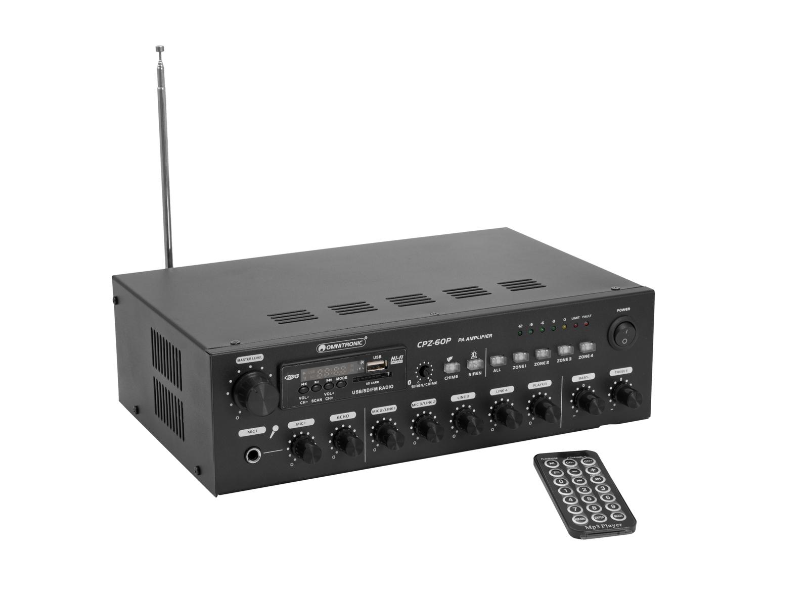 OMNITRONIC CPZ-60P ELA-Mischverstärker