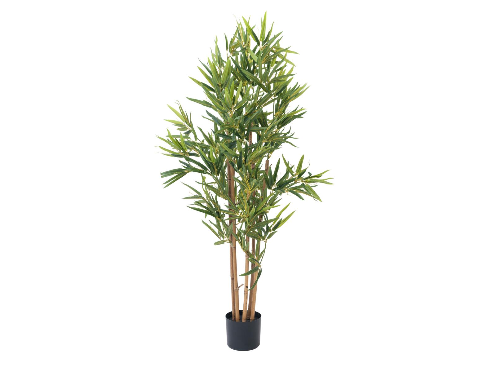 EUROPALMS Bambus deluxe, Kunstpflanze, 120cm