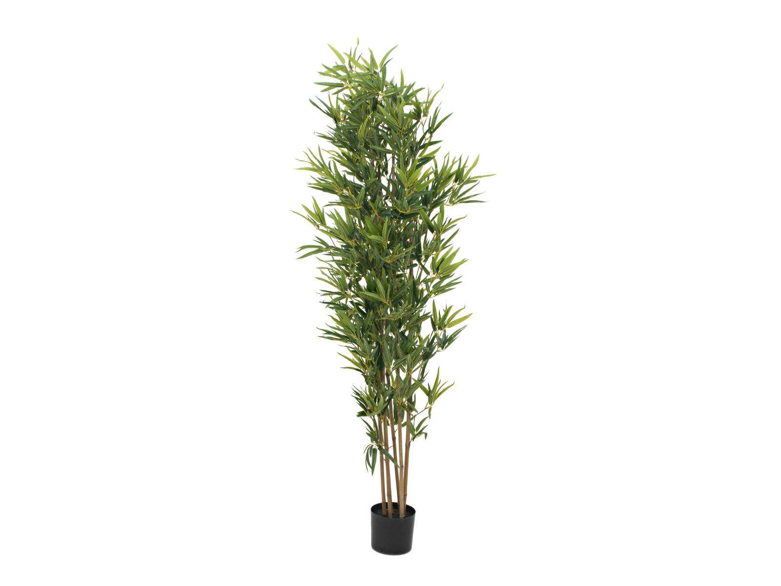 EUROPALMS Bambus deluxe, Kunstpflanze, 180cm