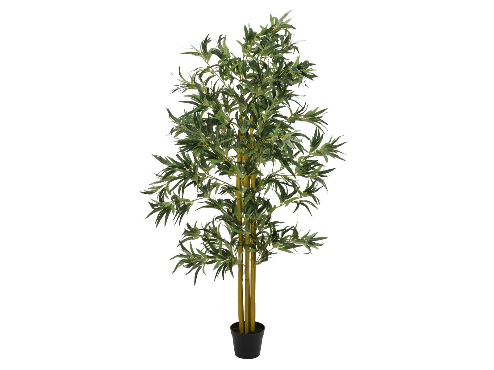 EUROPALMS Bambus Multistamm, Kunstpflanze, 180cm