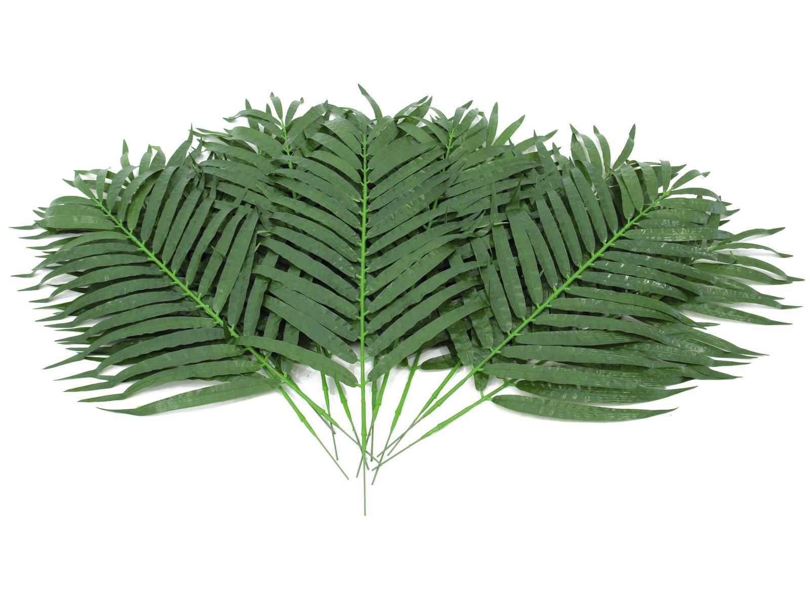 EUROPALMS Kokos-Palmwedel, künstlich, 80cm 12x