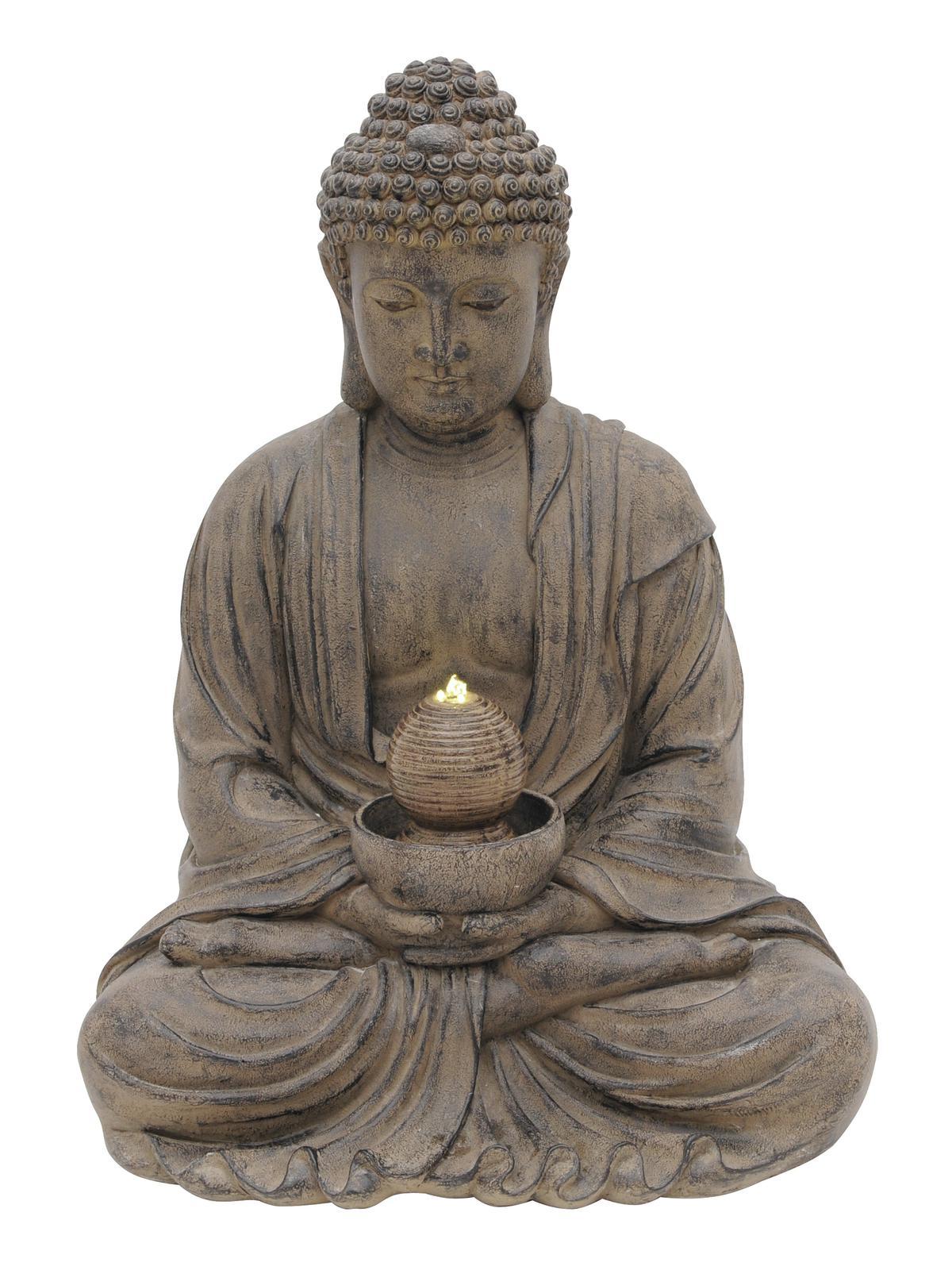 EUROPALMS Fontana, dell'ILLUMINAZIONE DI BUDDHA