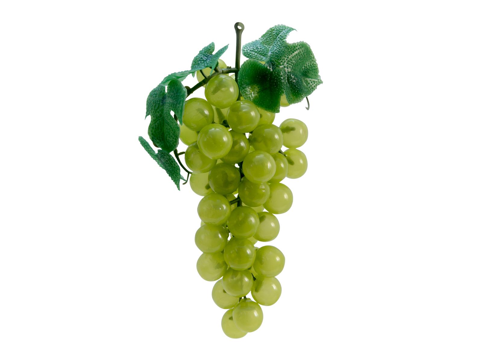 EUROPALMS Trauben mit Blättern, künstlich, grün