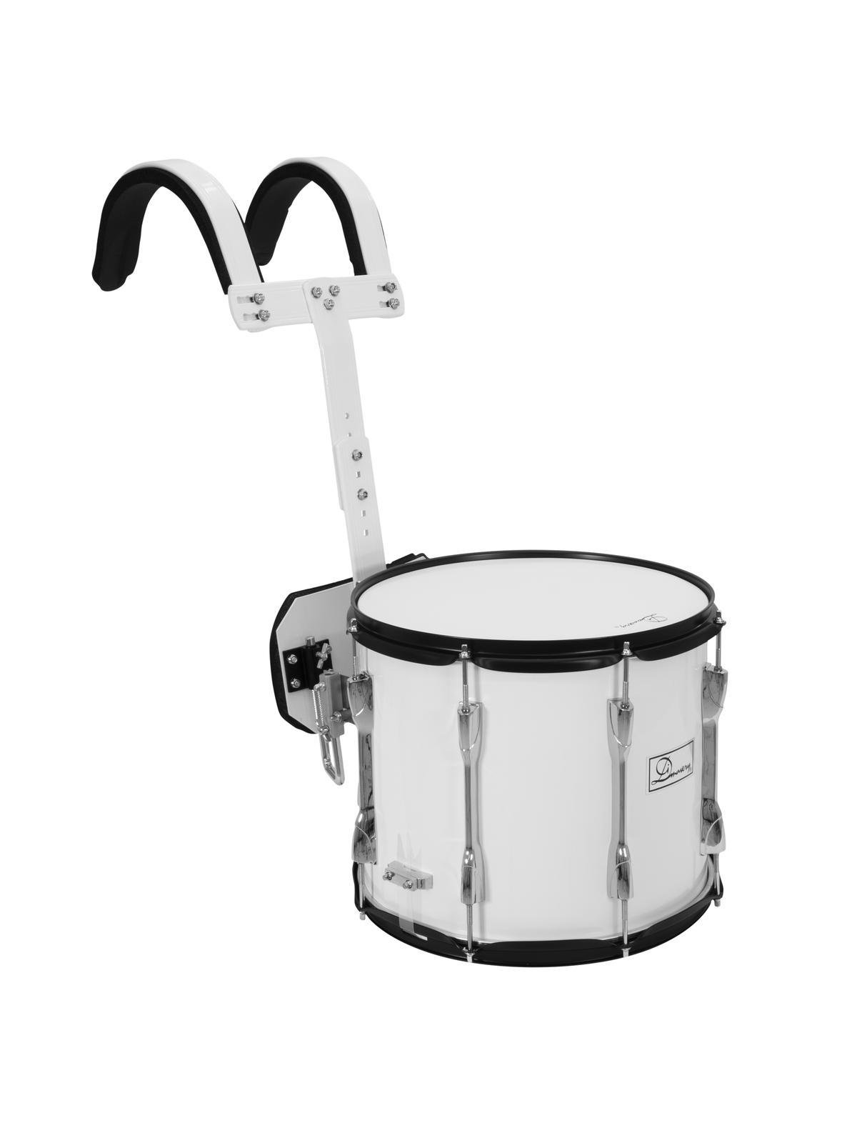 DIMAVERY MS-300 Marsch-Snare, weiß