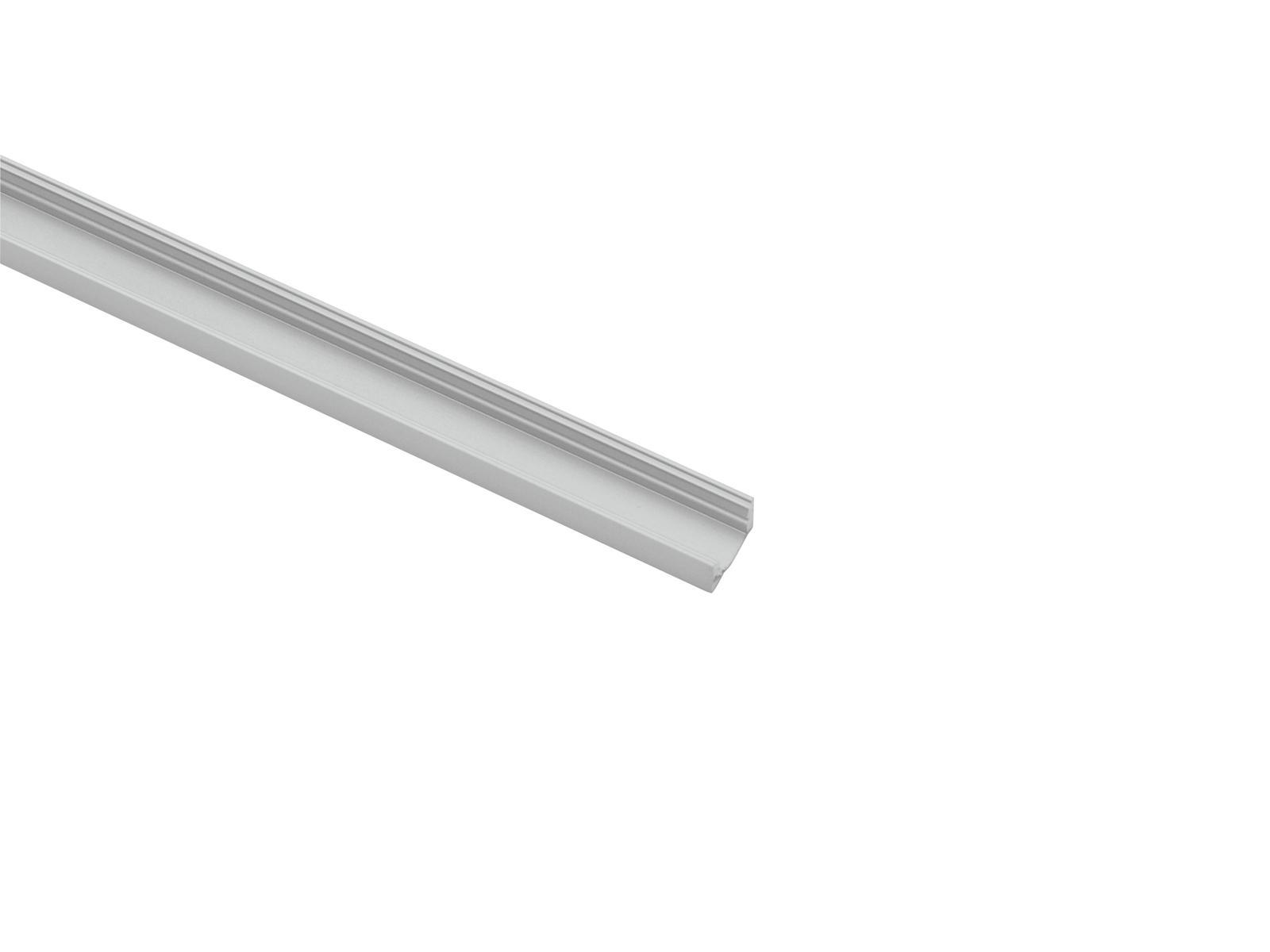 EUROLITE profilo a U per la Striscia del LED argento 4m