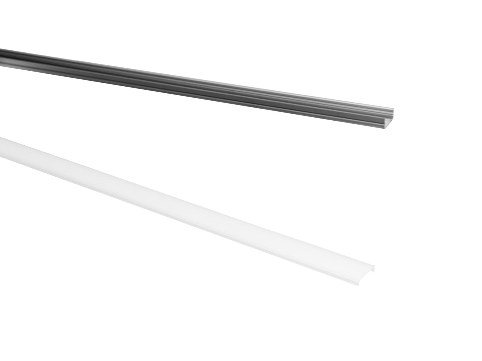 EUROLITE Deckel für U-Profil 20mm milchig 2m