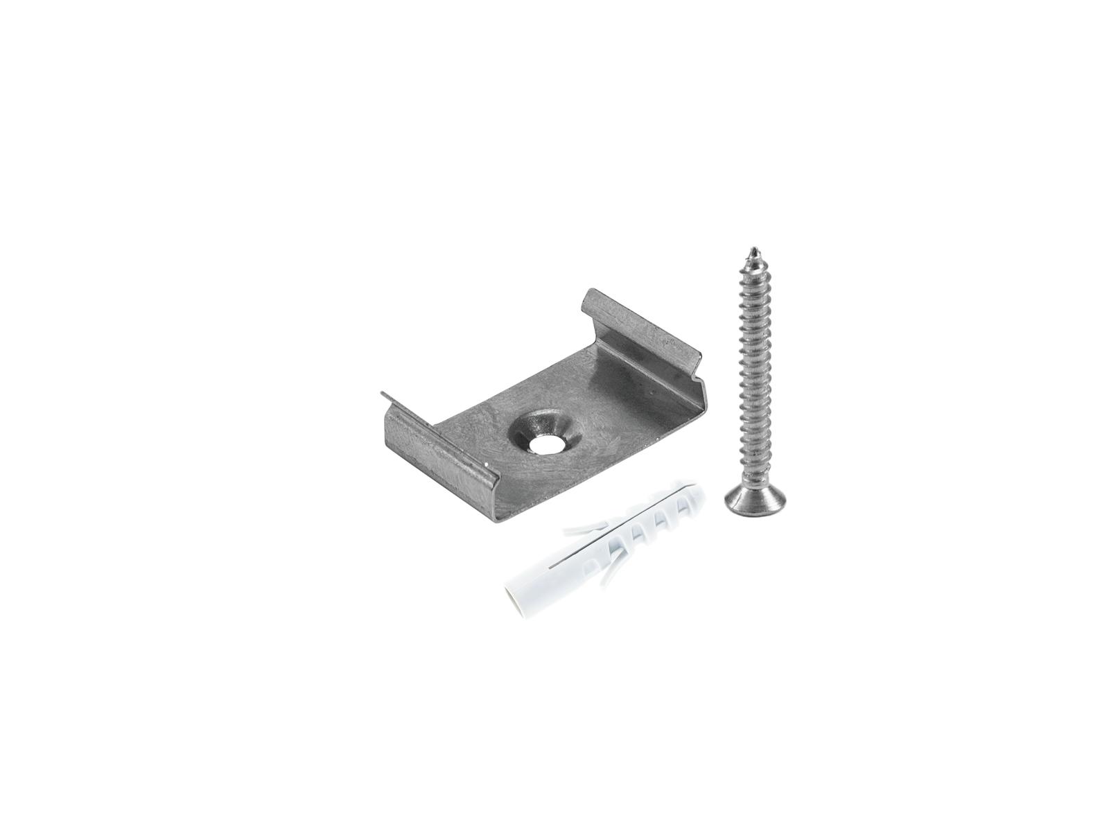 EUROLITE Halterung für U-Profil 20mm Metall