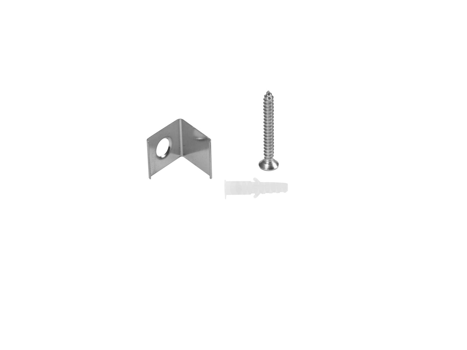 EUROLITE Halterung für Eck-Profil Metall