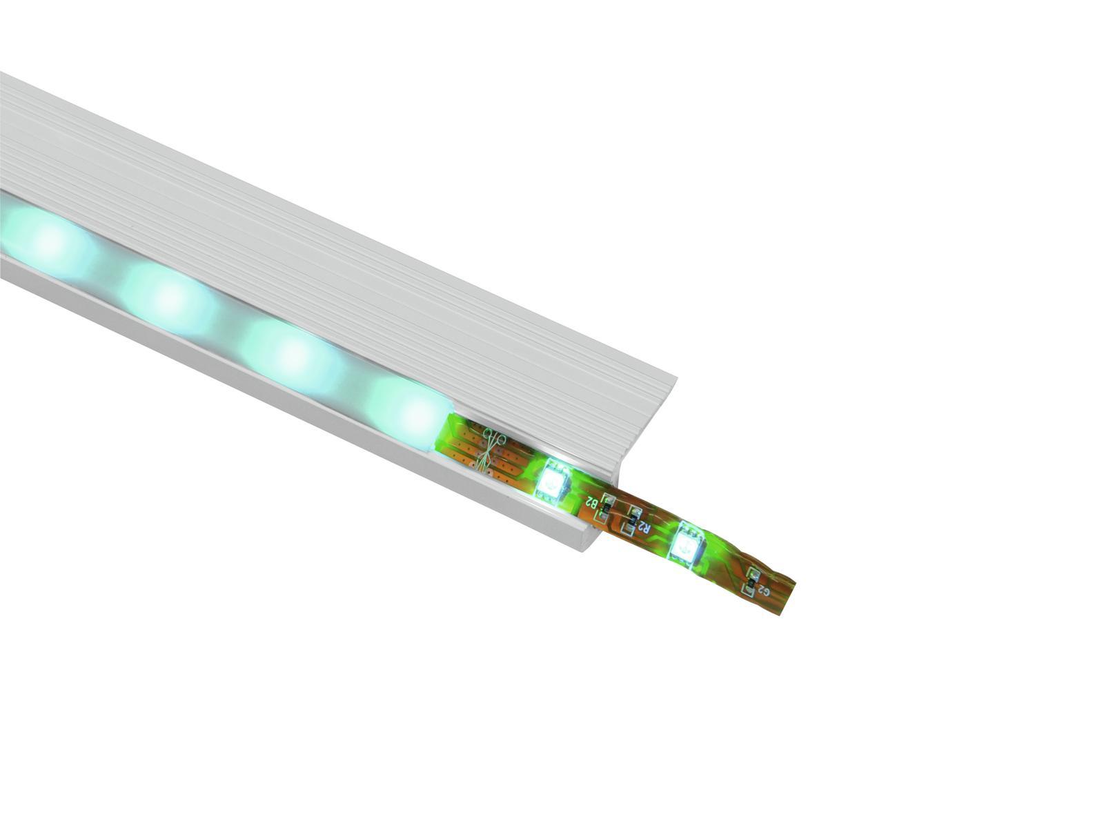 EUROLITE di Copertura per la striscia del LED profilo lattea 4m