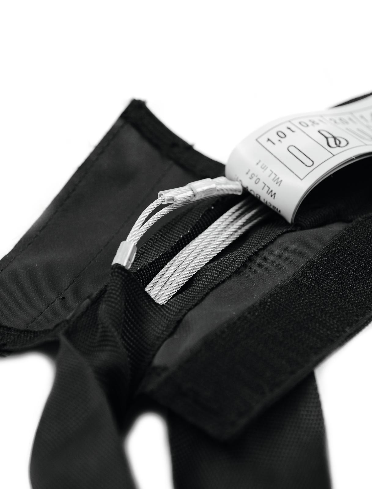 SHZ cinghia ad anello in acciaio con intarsio a 0,5 m/1000KG
