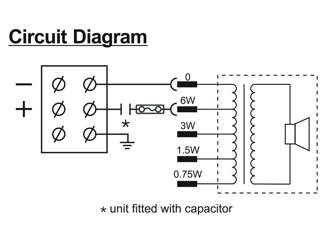 Cassa diffusore da soffitto parete 6 watt HONEYWELL  L-VWM06A/IT EN54