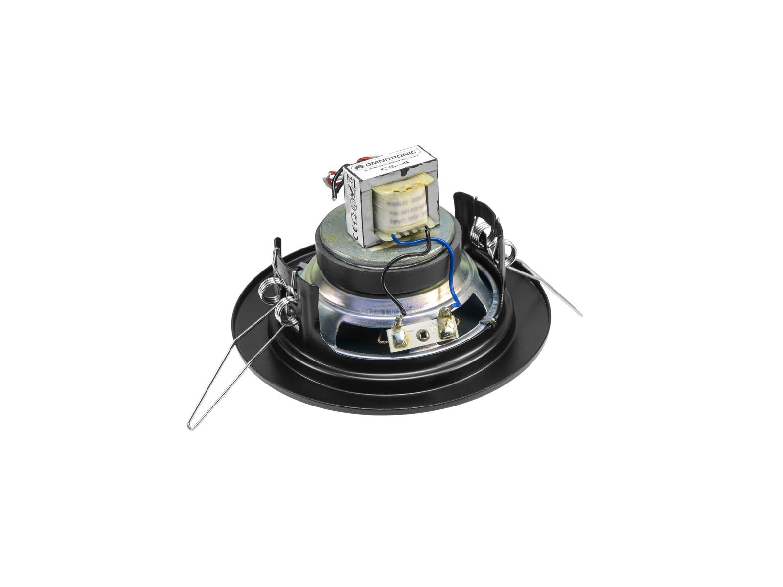 Cassa diffusore da soffitto parete 6 watt OMNITRONIC CS-4S