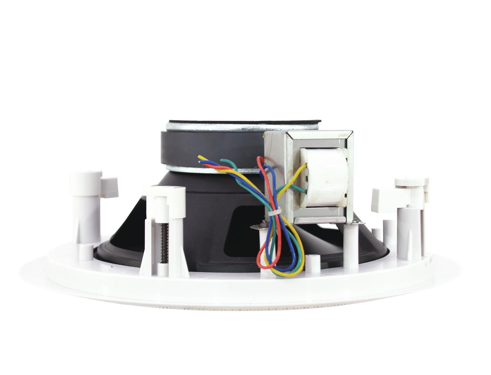 Cassa diffusore da soffitto parete 6 watt OMNITRONIC CST-8 a 2 vie